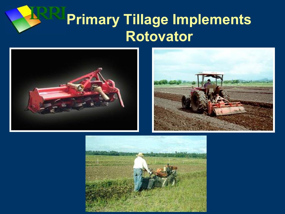 Primary Tillage Implements Rotovator
