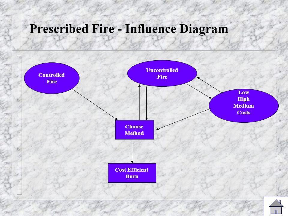 Prescribed Fire - Influence Diagram