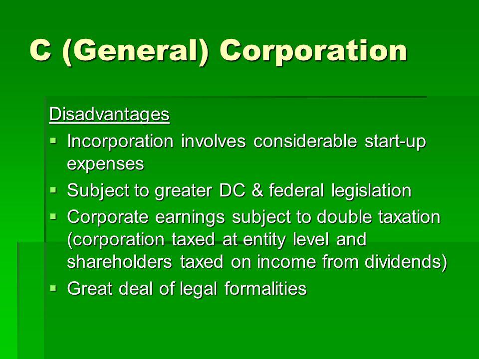 C (General) Corporation