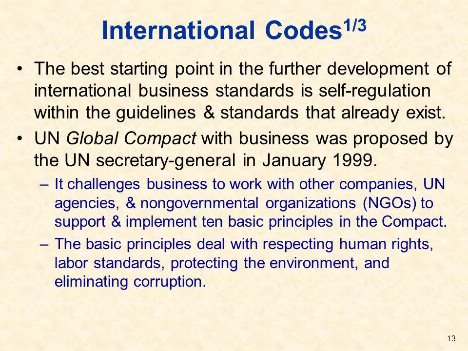 International Codes1/3