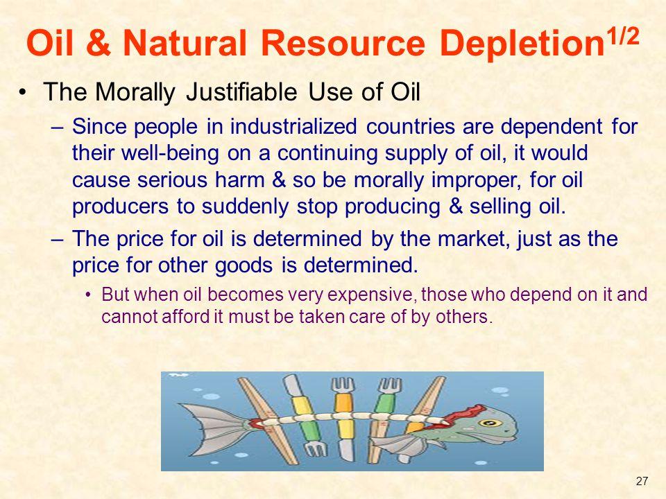 Oil & Natural Resource Depletion1/2