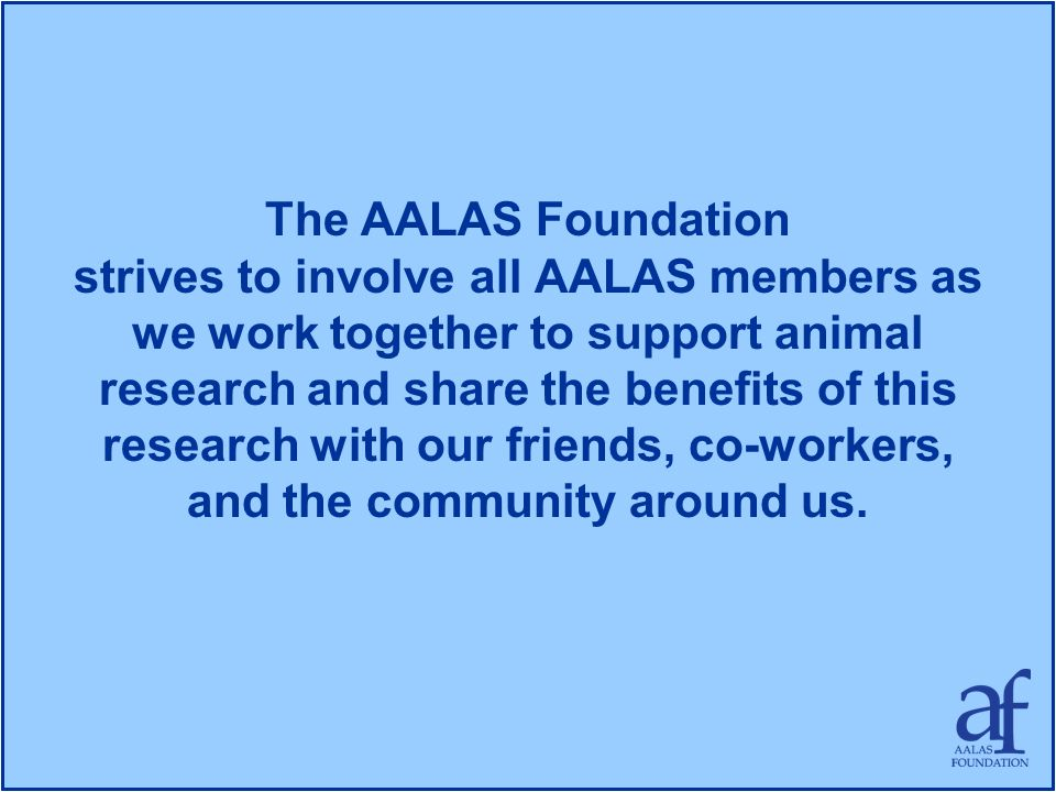 The AALAS Foundation