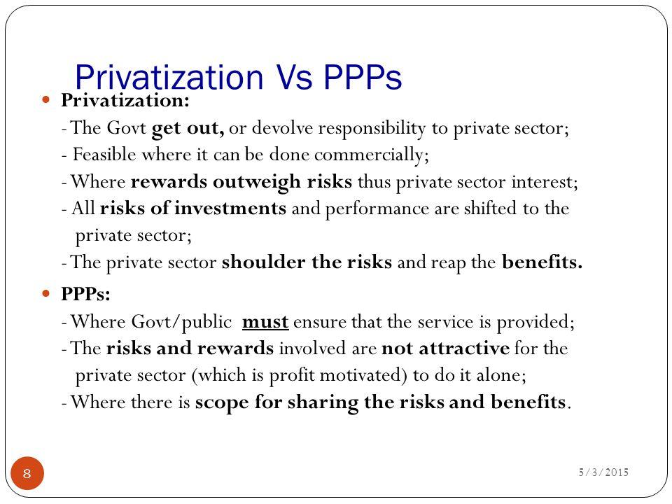 Privatization Vs PPPs
