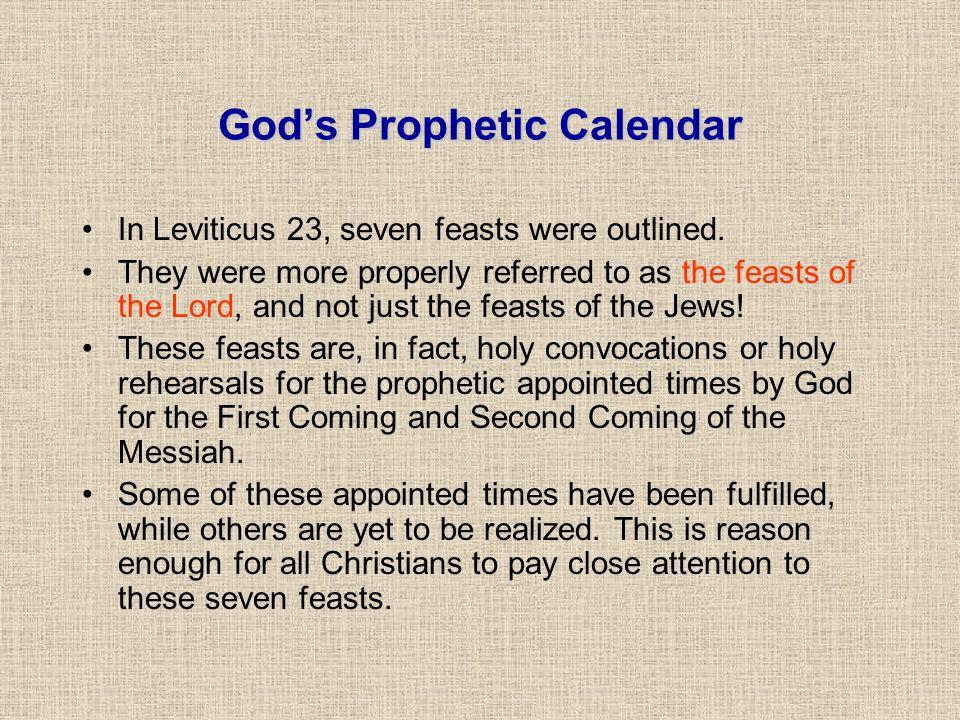 God's Prophetic Calendar