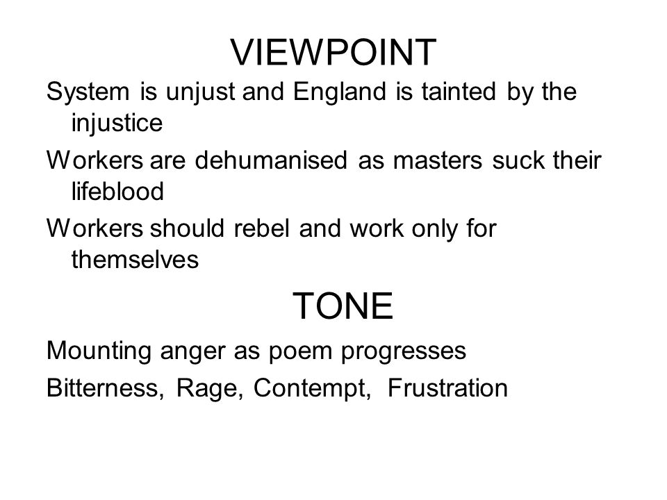 VIEWPOINT System is unjust and England is tainted by the injustice