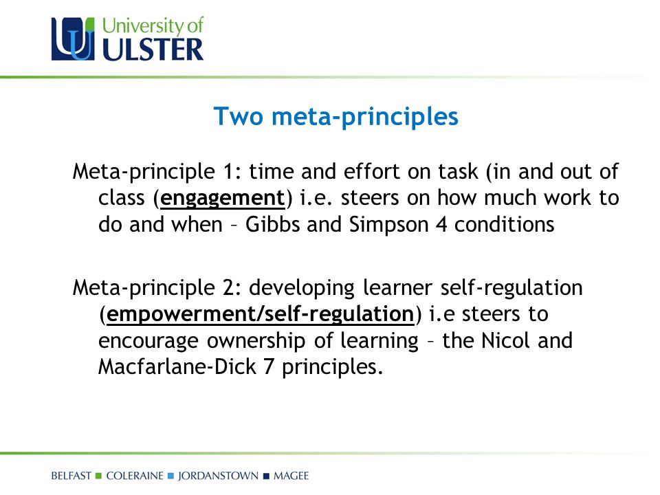 Two meta-principles