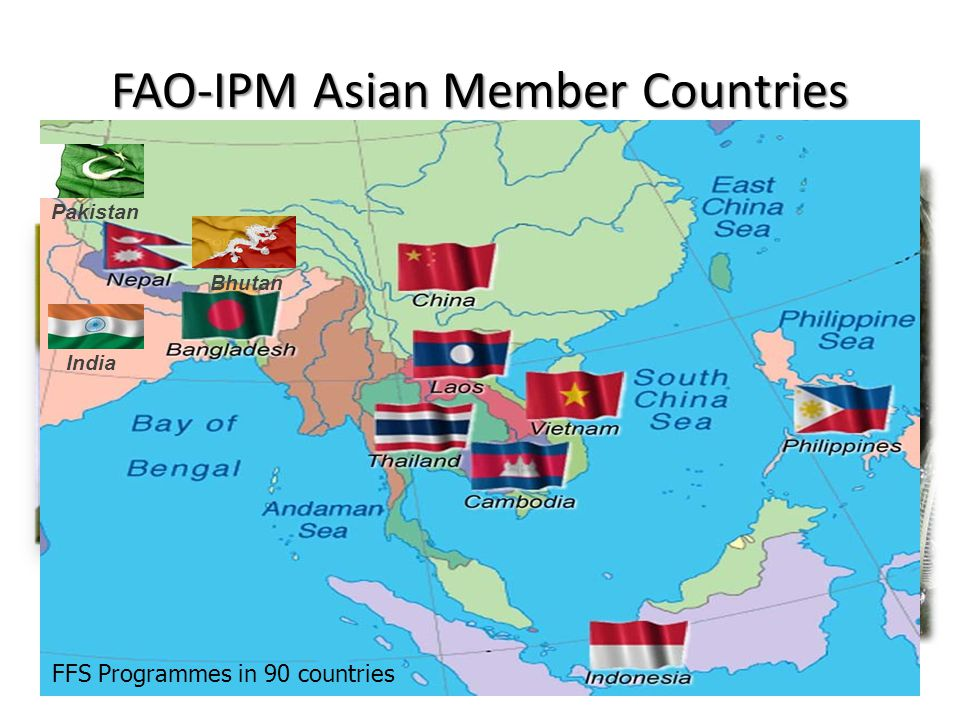 FAO-IPM Asian Member Countries