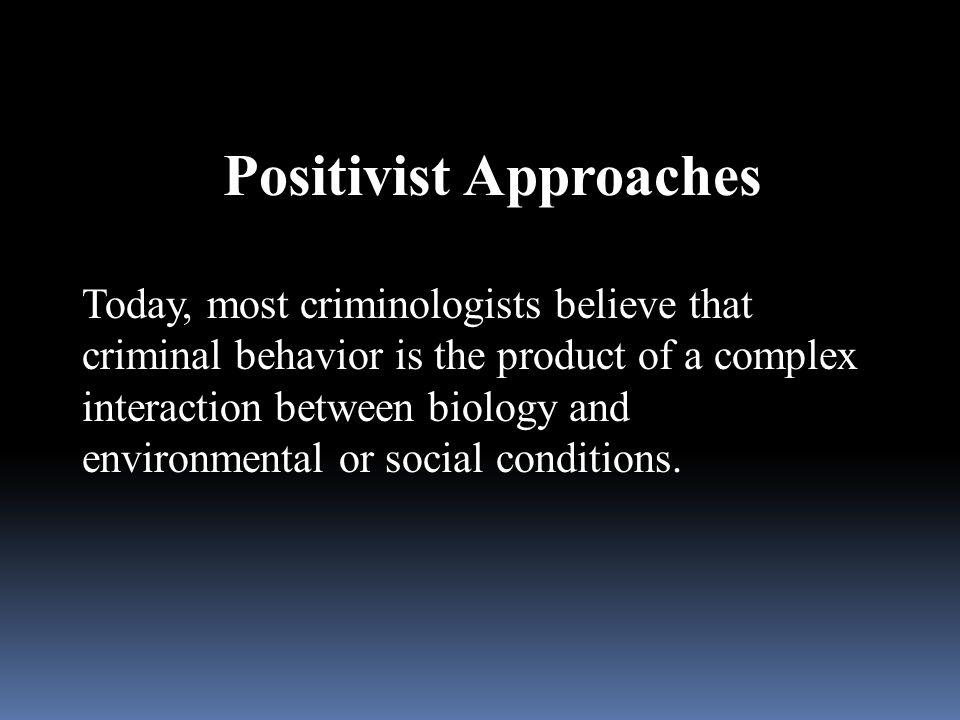 Positivist Approaches