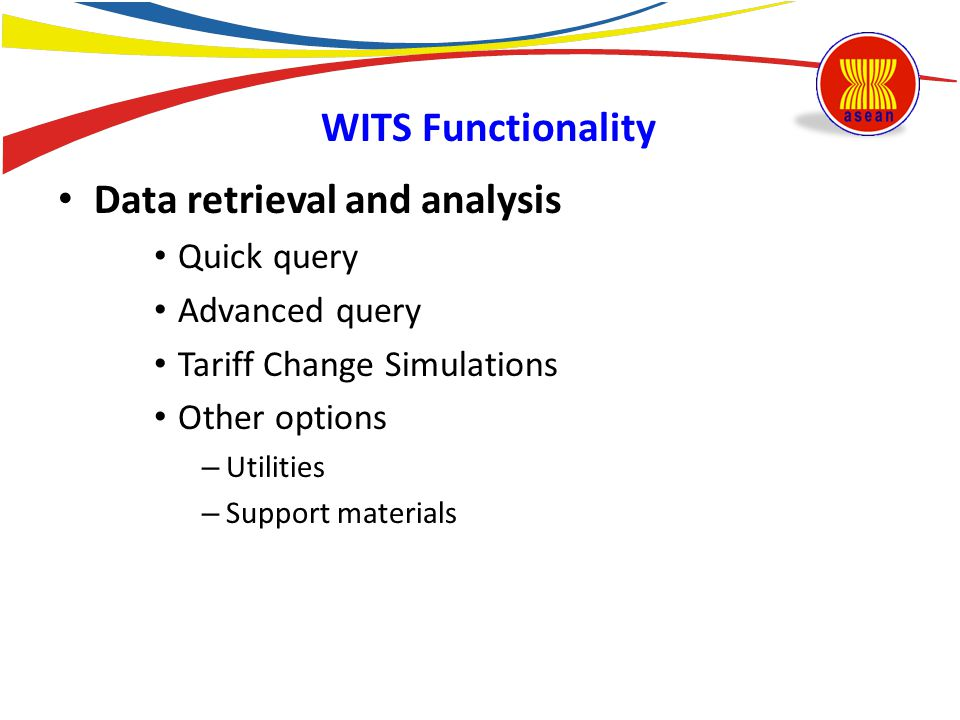 Data retrieval and analysis