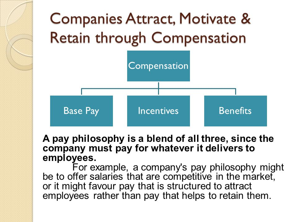 Companies Attract, Motivate & Retain through Compensation