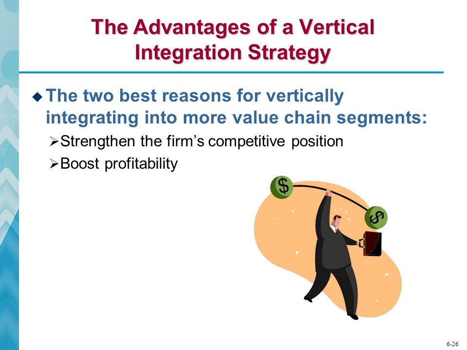 The Advantages of a Vertical Integration Strategy