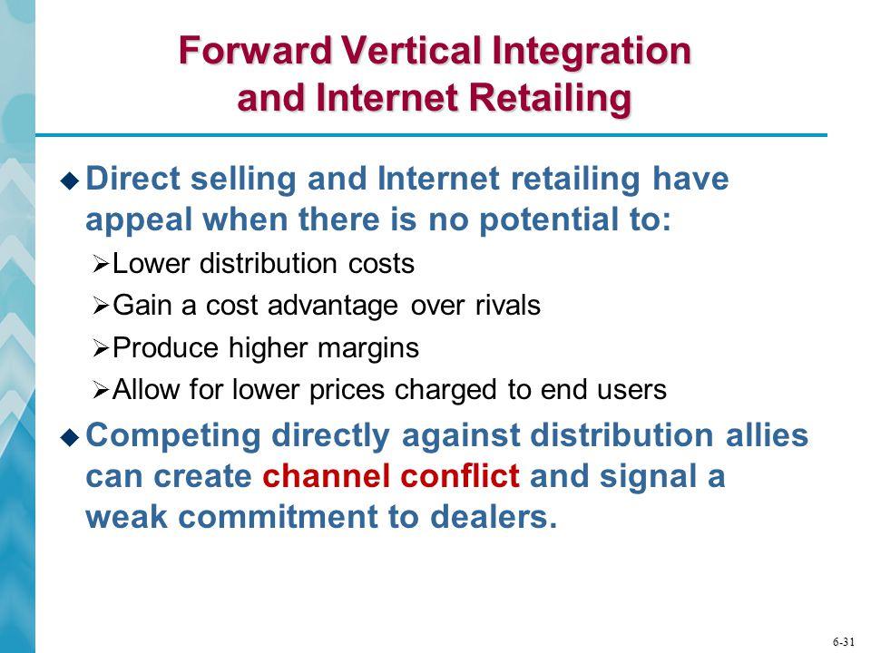Forward Vertical Integration and Internet Retailing