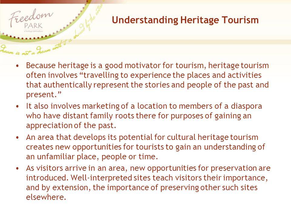 Understanding Heritage Tourism