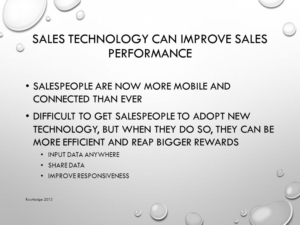 Sales Technology Can Improve Sales Performance