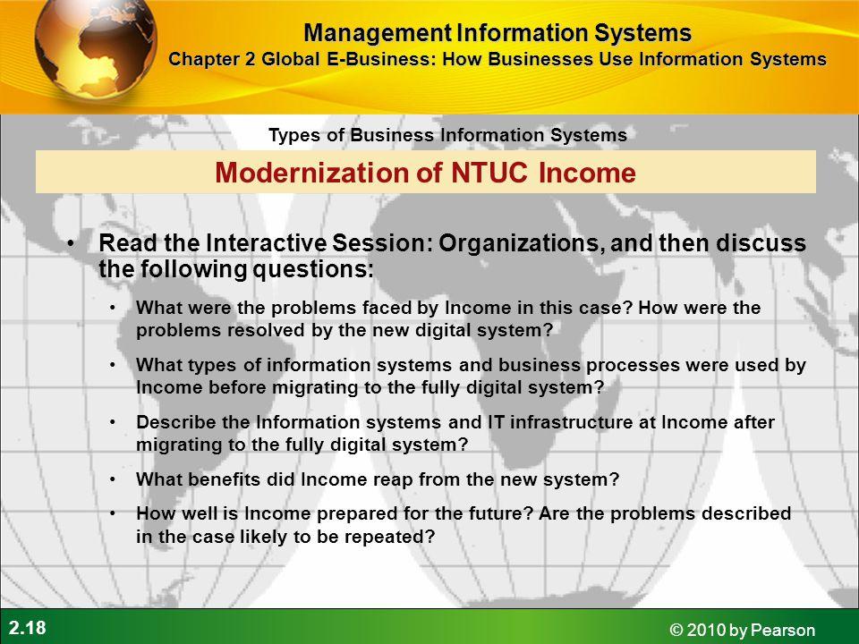 Modernization of NTUC Income