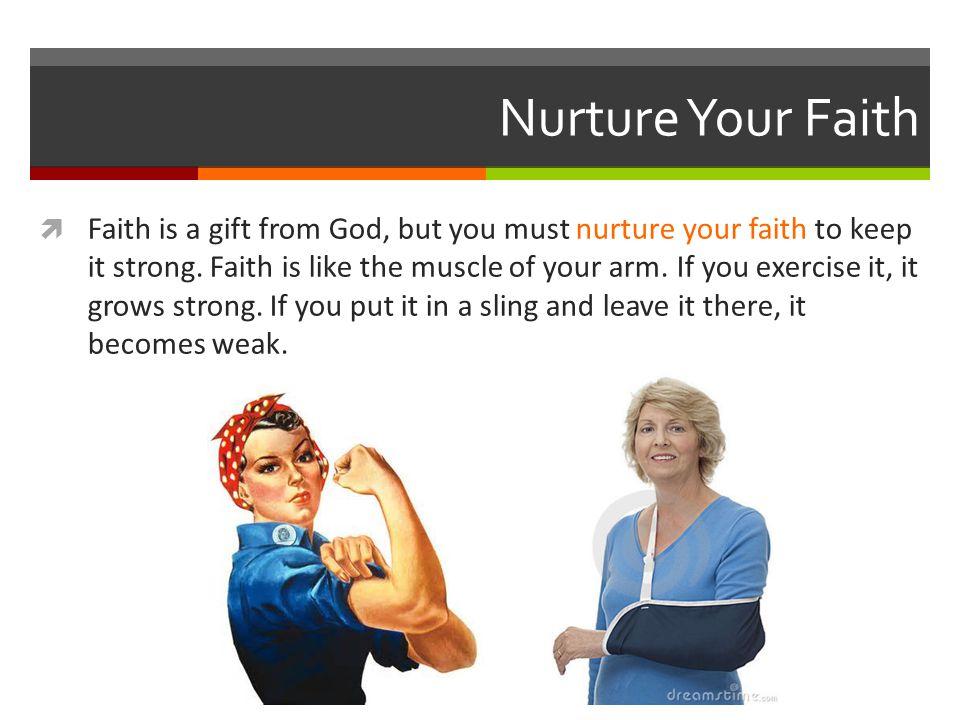 Nurture Your Faith