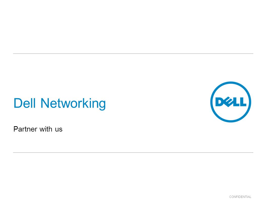 Dell Networking Partner with us