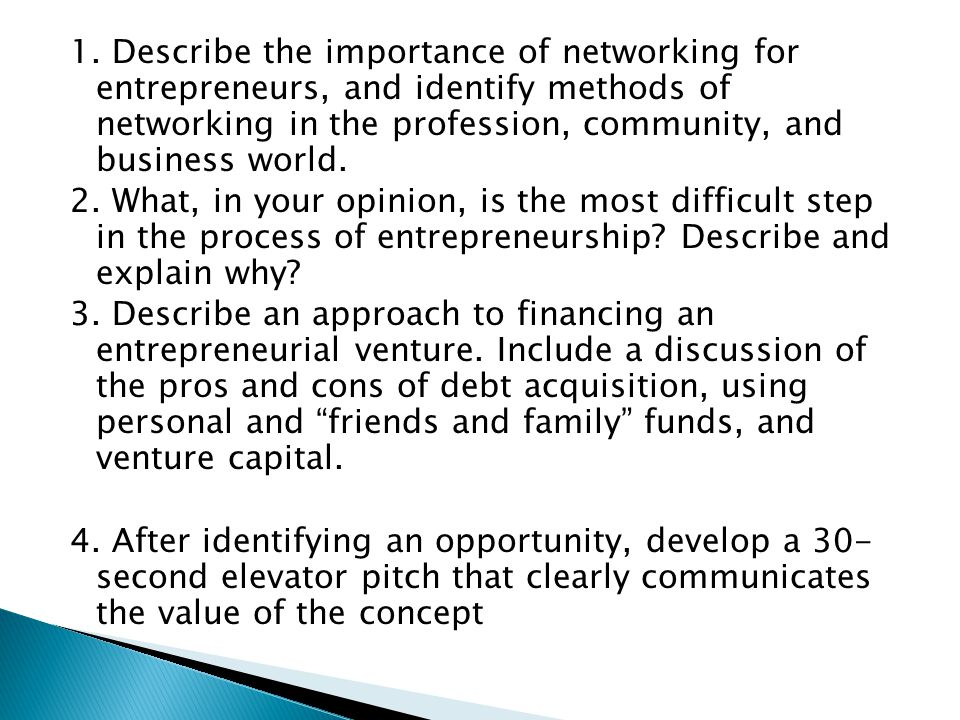 importance of networking in entrepreneurship pdf