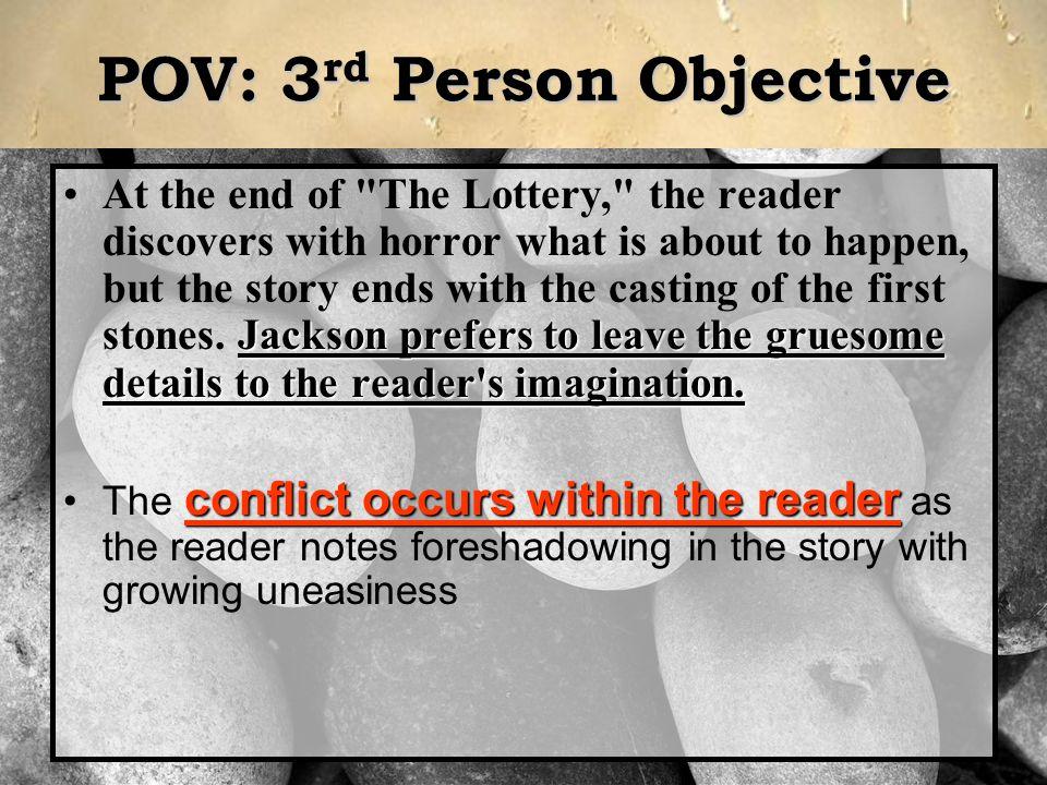 POV: 3rd Person Objective