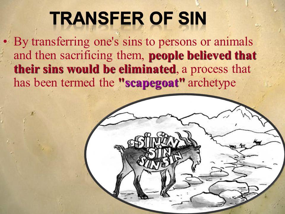 Transfer of Sin