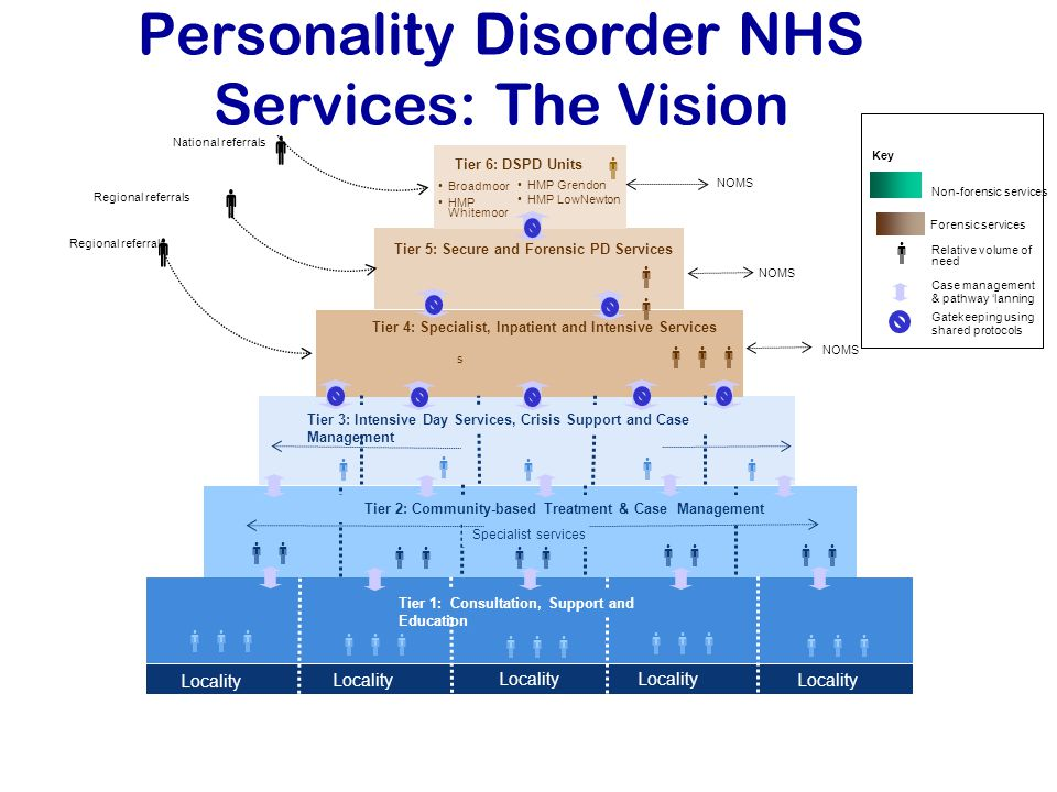 Personality Disorder NHS Services: The Vision