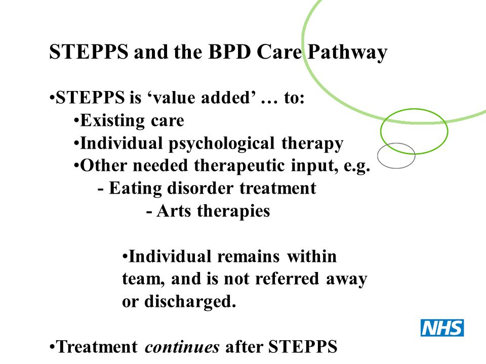 STEPPS and the BPD Care Pathway