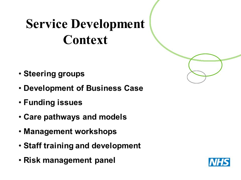 Service Development Context