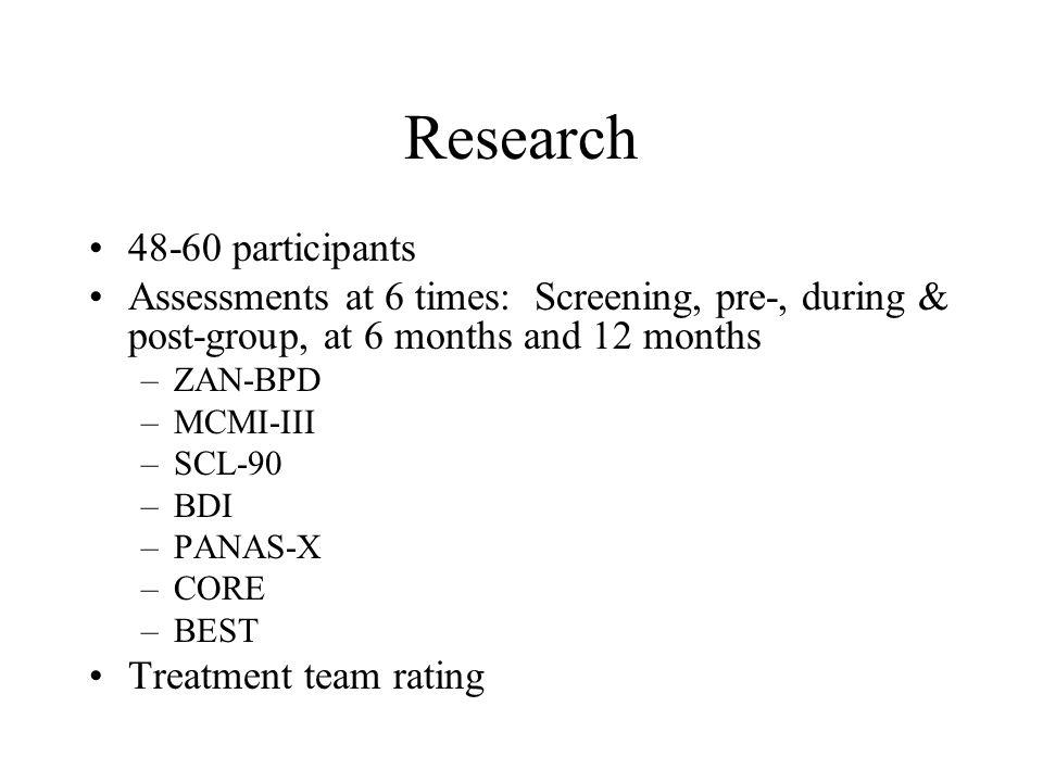 Research 48-60 participants
