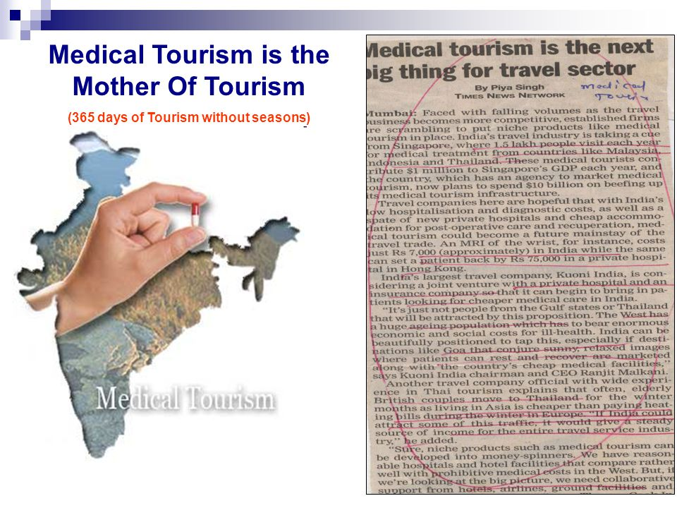 Medical Tourism is the Mother Of Tourism