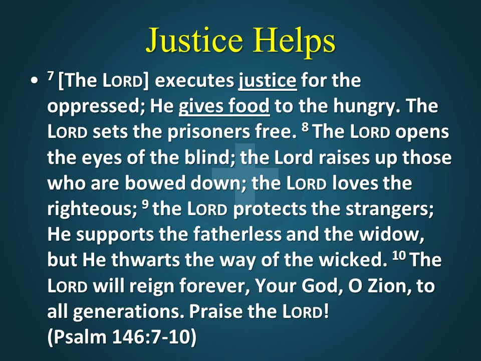Justice Helps
