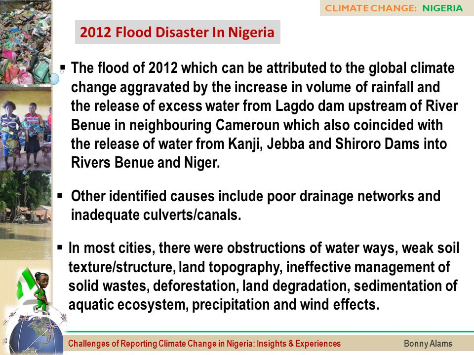 2012 Flood Disaster In Nigeria
