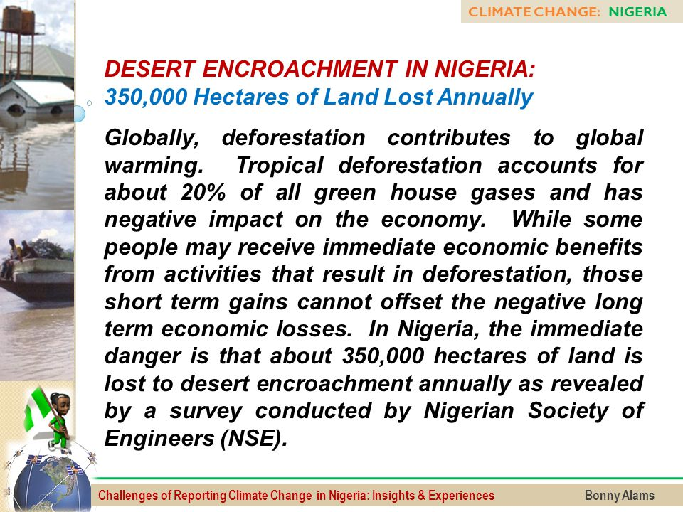DESERT ENCROACHMENT IN NIGERIA: 350,000 Hectares of Land Lost Annually