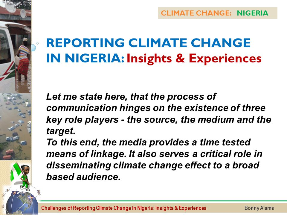 REPORTING CLIMATE CHANGE IN NIGERIA: Insights & Experiences