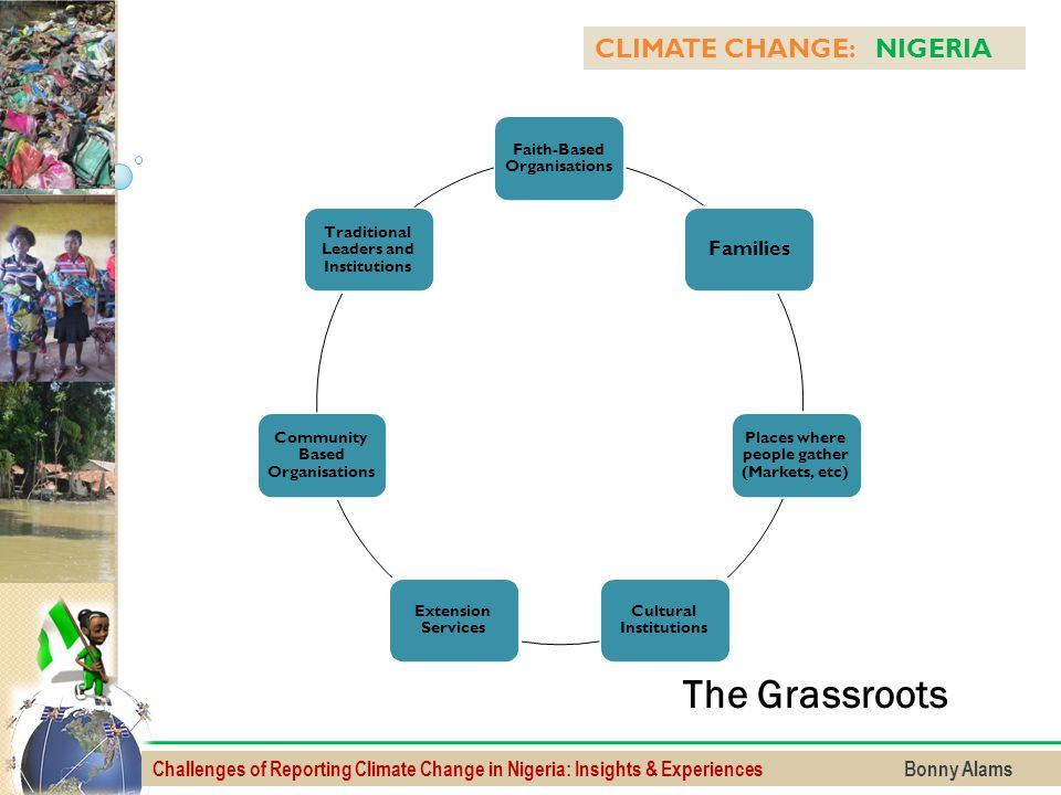 The Grassroots CLIMATE CHANGE: NIGERIA Families