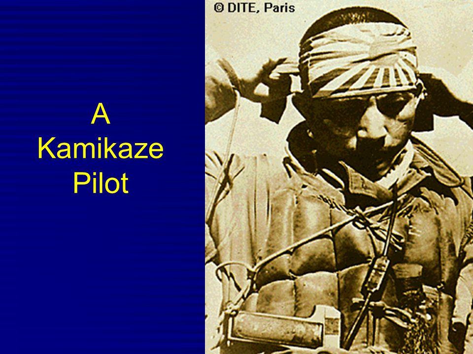 A Kamikaze Pilot