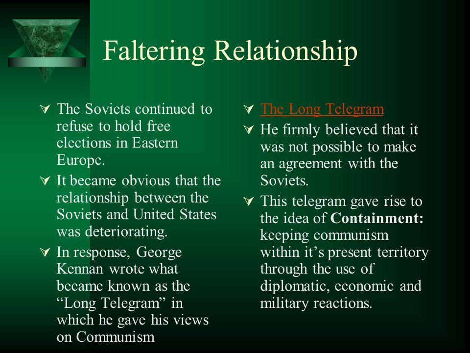 Faltering Relationship