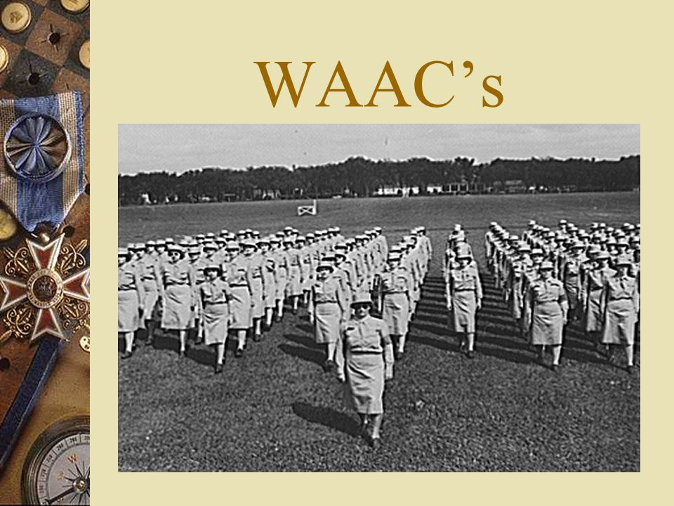 WAAC's