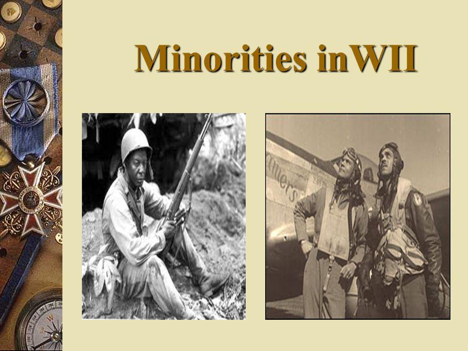 Minorities inWII