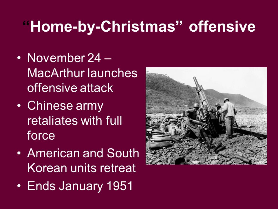 Home-by-Christmas offensive