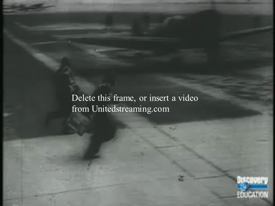 Delete this frame, or insert a video from Unitedstreaming.com