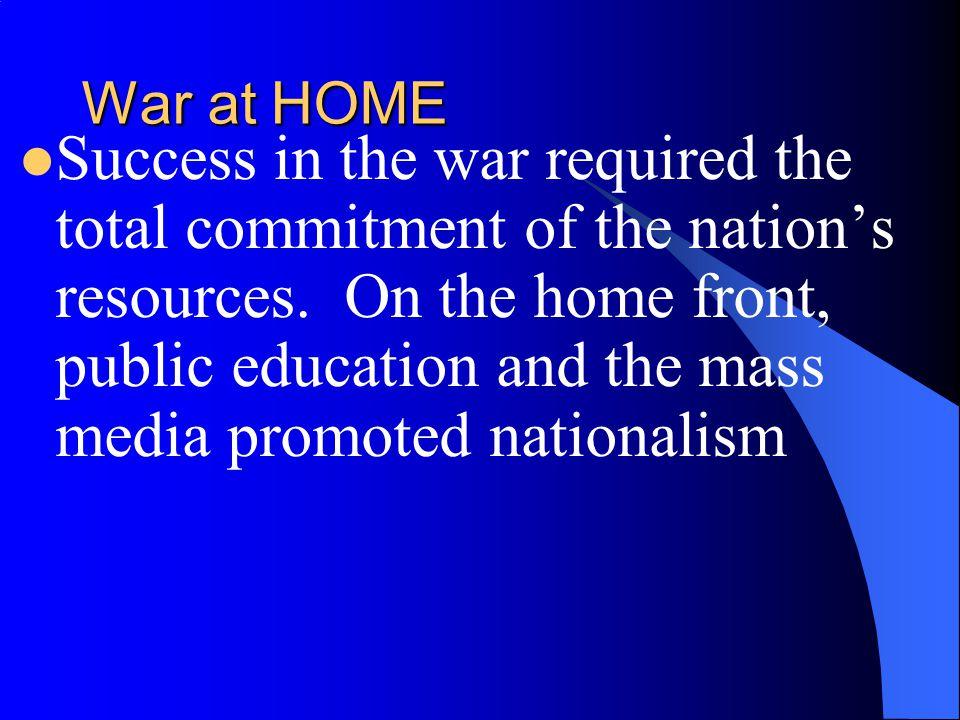 War at HOME