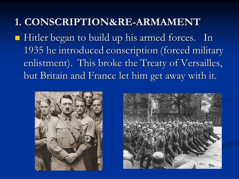1. CONSCRIPTION&RE-ARMAMENT