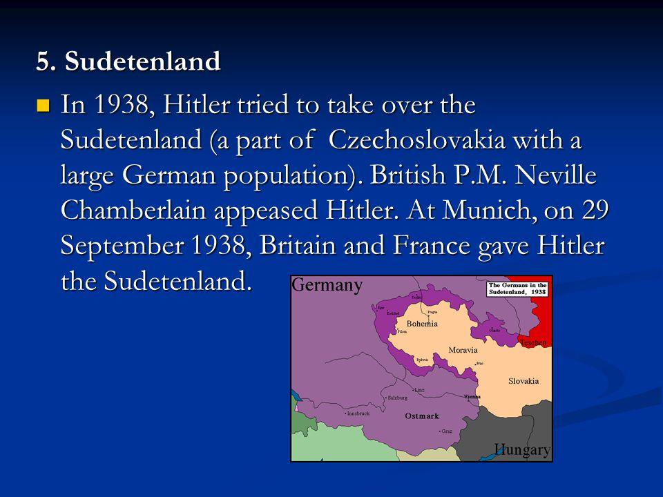 5. Sudetenland