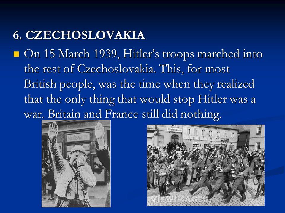 6. CZECHOSLOVAKIA
