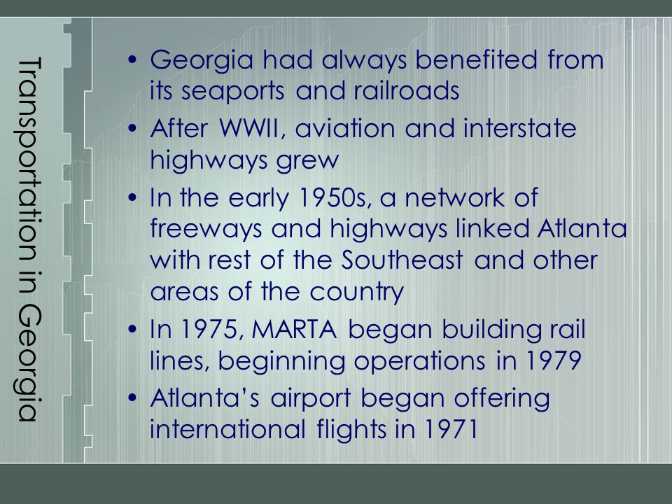 Transportation in Georgia