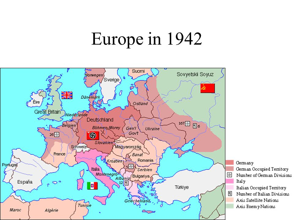 Europe in 1942