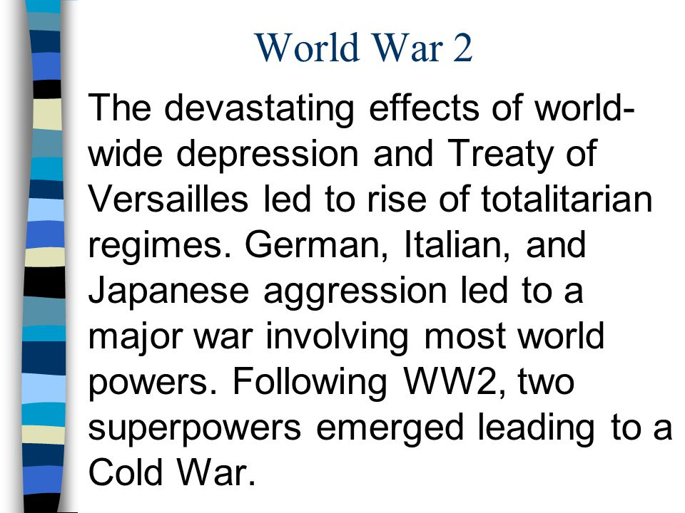 impact of world war 2 on economy