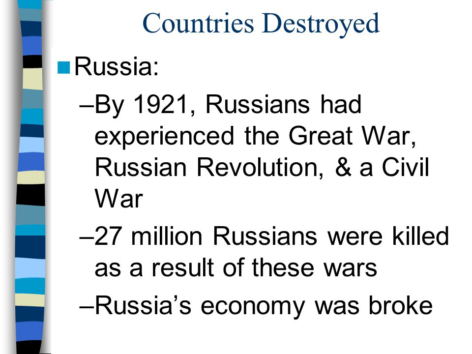 Countries Destroyed Russia: