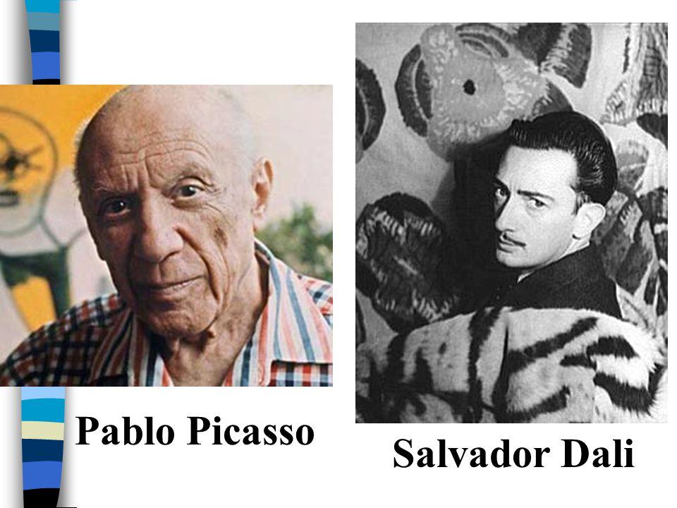 Pablo Picasso Salvador Dali