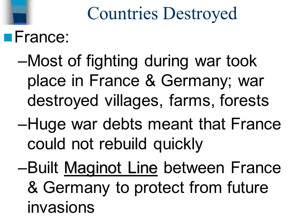 Countries Destroyed France: